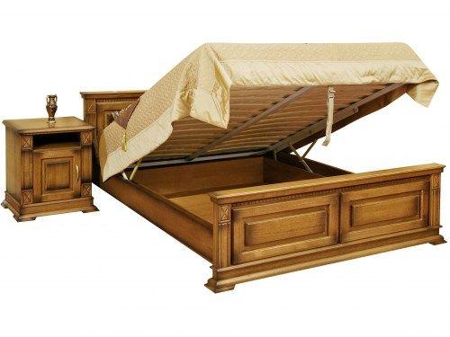 Кровать Верди из массива