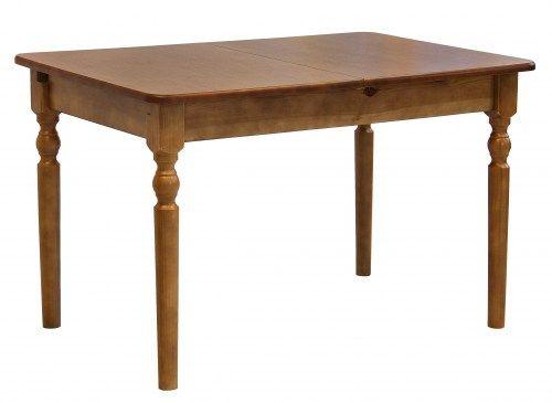 Стол обеденный Трапеза точеный из массива