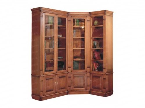 Шкаф книжный Верди 148 из массива