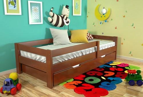 Кровать Малютка-3 из массива