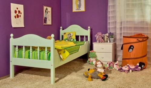 Кровать Алиса из массива