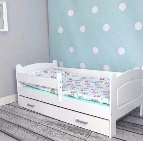 Кровать Мишка из массива