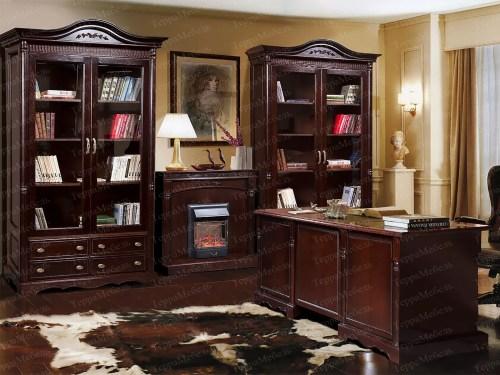 Письменный стол Паола 391 из массива