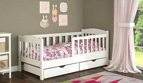 Кровать Ассоль из массива