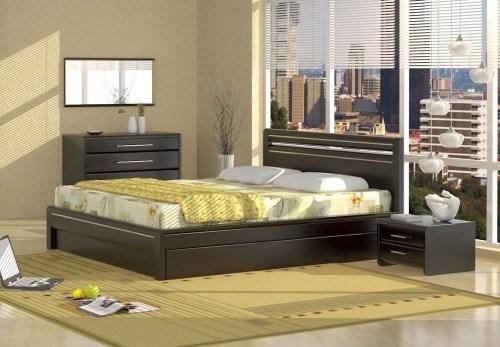 Кровать Окаэри 1 из массива