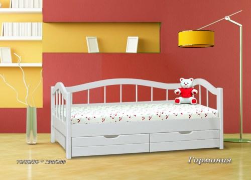 Кровать Гармония из массива