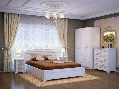 Спальня Афина из массива