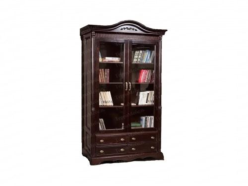 Книжный шкаф Паола 131 из массива