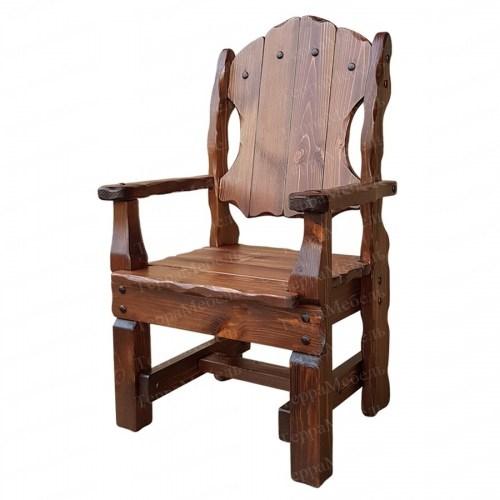 Кресло Добряк 1 из массива