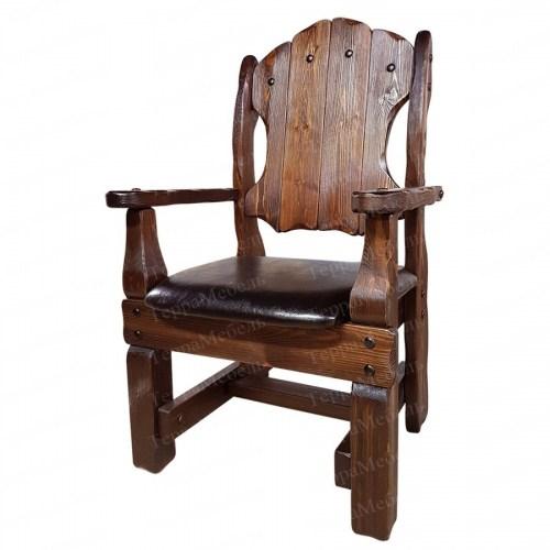 Кресло Добряк 2 из массива