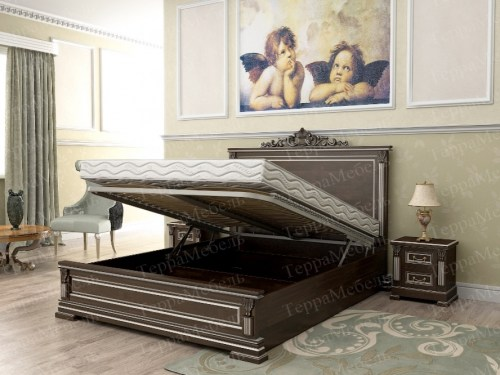 Кровать Италия 100 из массива