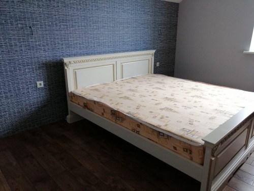 Кровать Милана 21 из массива