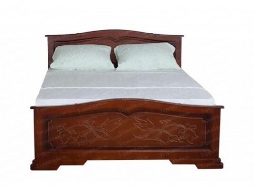 Кровать ТЕРРА МК - 102 из массива