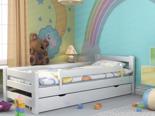 Кровать ТЕРРА МК - 127 из массива