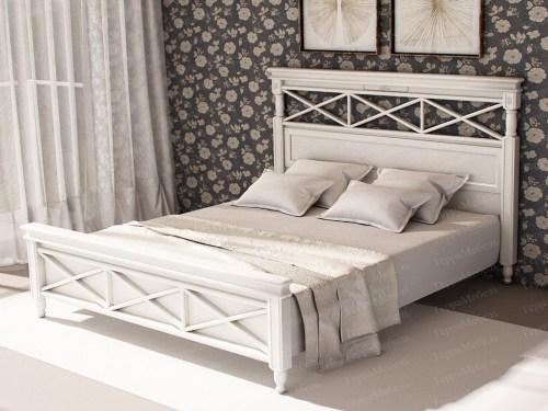 Кровать ТЕРРА МК - 138 из массива