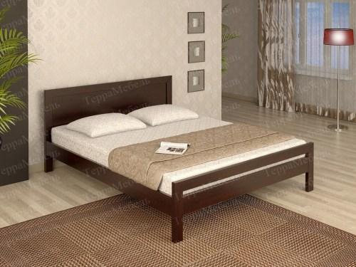 Кровать ТЕРРА МК - 145 из массива