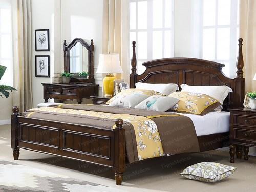 Кровать ТЕРРА МК - 182 из массива