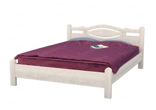 Кровать ТЕРРА МК - 203 из массива
