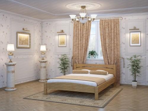 Кровать ТЕРРА МК - 308 из массива