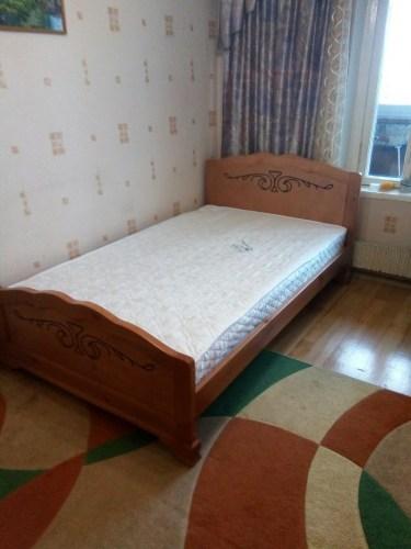 Кровать Муза из массива