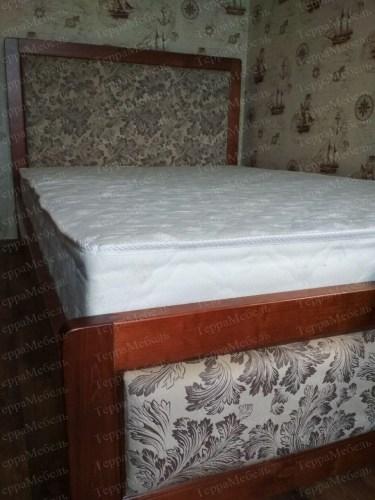 Кровать Атланта из массива