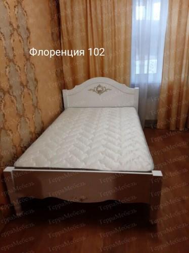 Кровать Флоренция 102 из массива