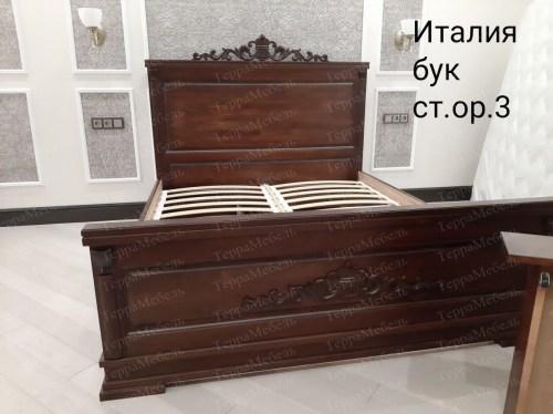 Кровать Италия 105 из массива