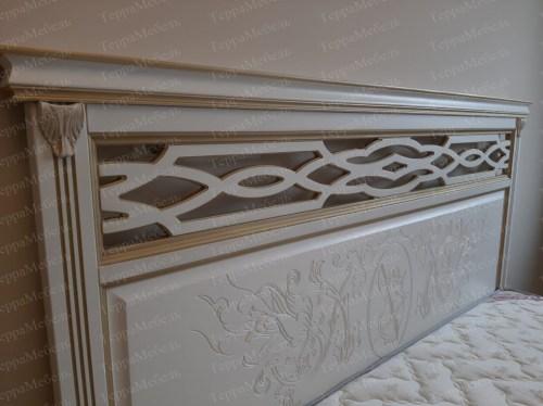 Кровать Лирона 340 из массива