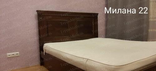 Кровать Милана 22 из массива