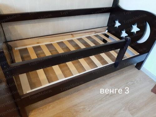 Кровать Звёздочка из массива