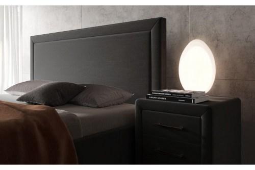 Кровать мягкая Милан из массива