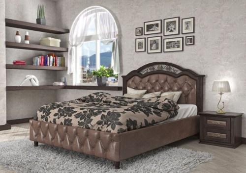 Кровать Лаура 110 из массива