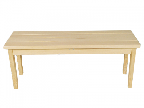 Лавка деревянная №2 из массива