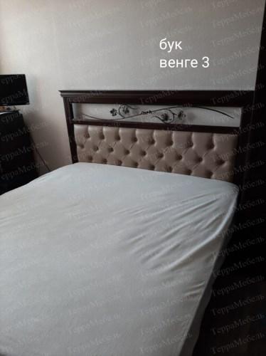 Кровать Лирона 220 из массива