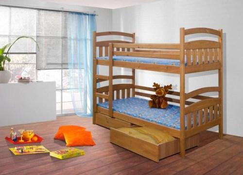 Кровать двухъярусная детская новинка из массива