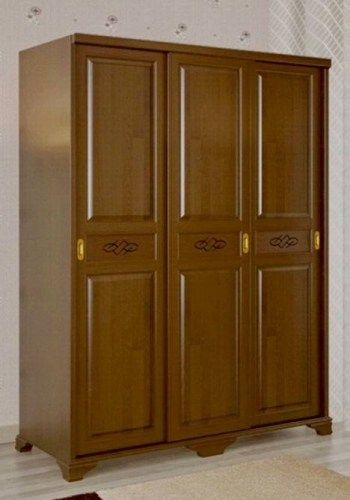 Сатори 3 створчатый шкаф-купе из массива