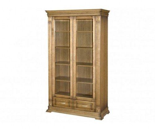 Шкаф книжный Верди 130 из массива