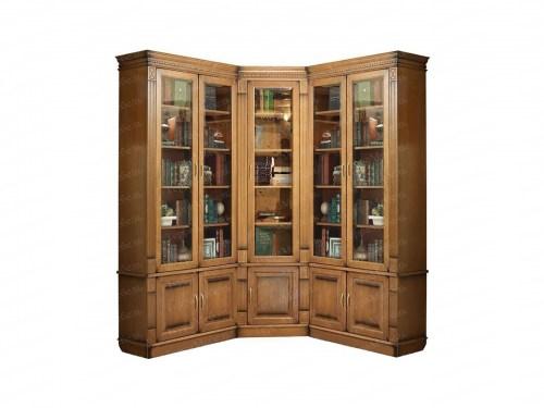 Шкаф книжный Верди 149 из массива