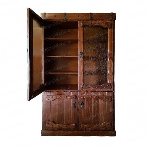 Шкаф книжный Государь из массива