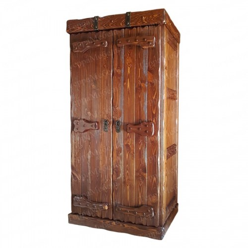 Шкаф платяной Добрыня 1 из массива
