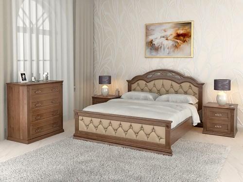 Спальня Лаура 11 из массива