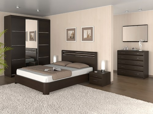 Спальня Окаэри 110 из массива