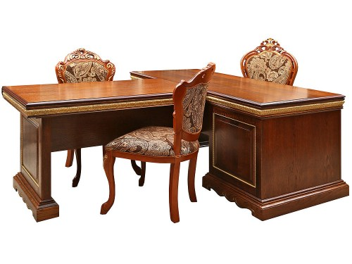 Стол письменный Милана 160 из массива