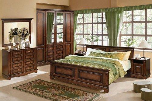Спальный гарнитур Венето из массива