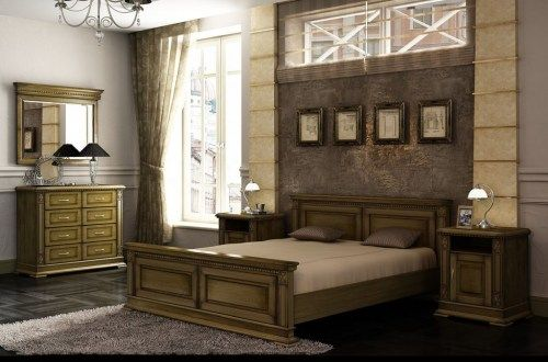 Комплект мебели Верди-02 из массива