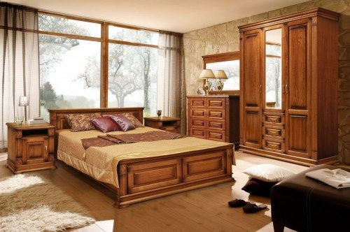 Комплект мебели Верди-04 из массива