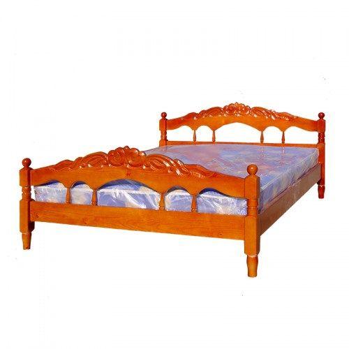 Кровать Виктория резная из массива